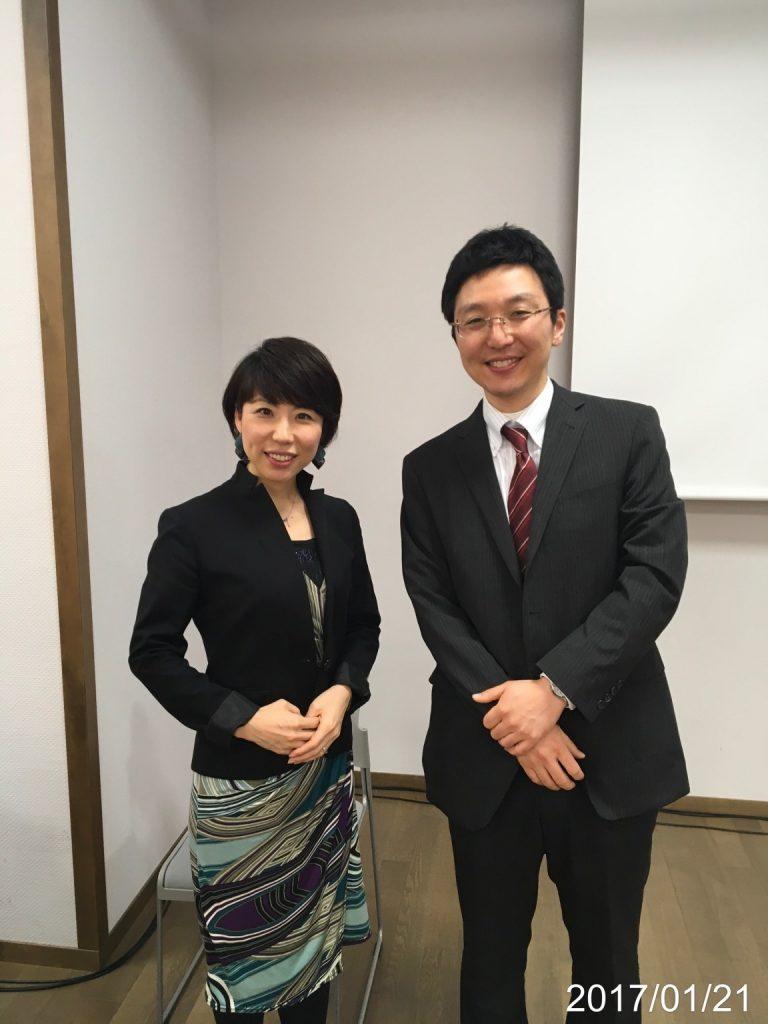 講師の前野彩さんとの記念写真